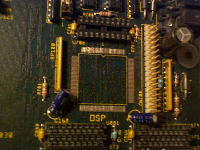 Picture showing where the DSP/DSP Socket would have been fitted