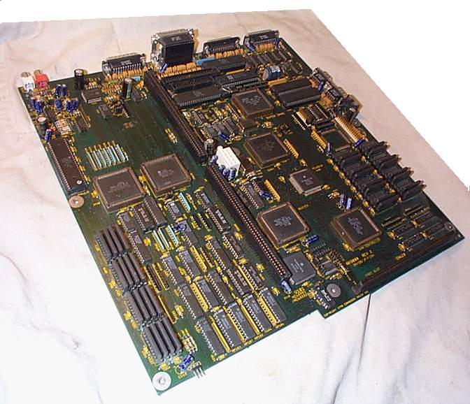 Picture of the AA3000 Motherboard