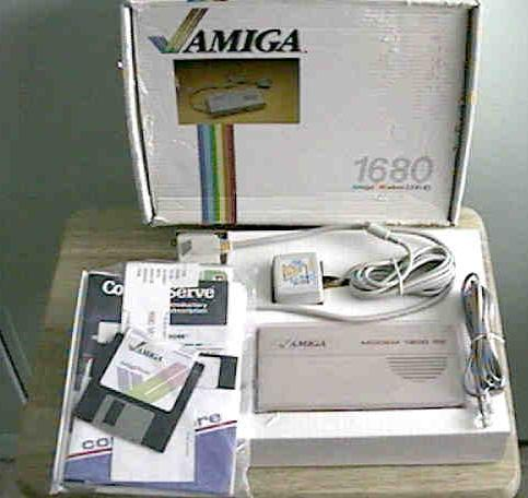 1680 Modem/1200 RS with box, manual and disks