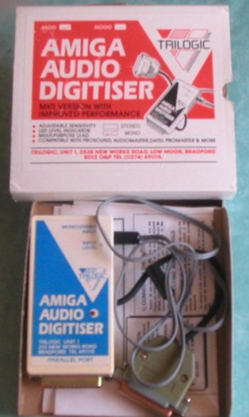 Amiga Audio Digitiser