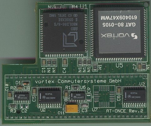 Picture shows a Rev 2 version of the card