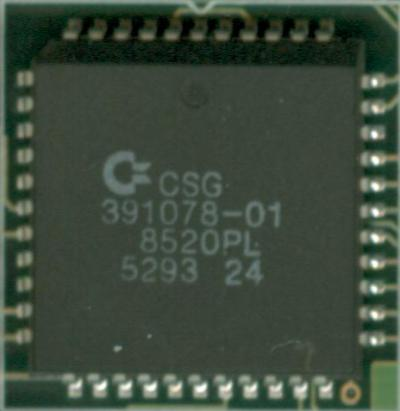 A surface mounted square CIA