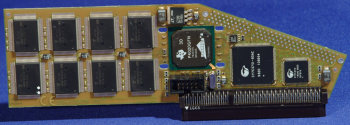 Early version of the card, without the A3000 connector