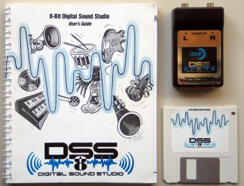 DSS8 with manual and disk