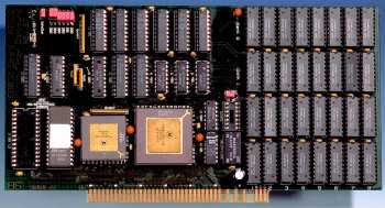 Image shows the card fitted with 16MB of RAM