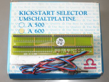Kickstart Selector with box, A600 version