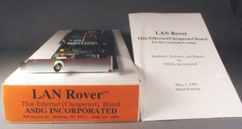 LAN Rover with manual and box