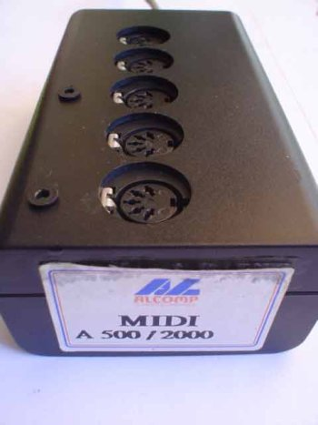 MIDI Interface, side view