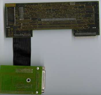 Image shows the SCSI controller attached
