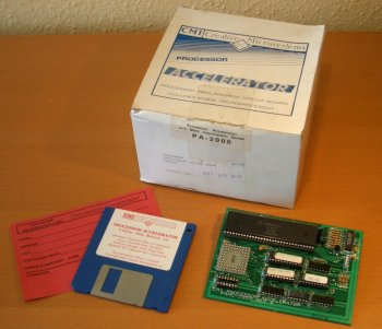 PAMC-2000 with disk and box