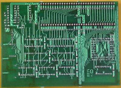 Picture showing the rear of the card