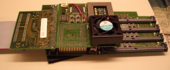 PPC Developer board attached to CS Mk-II
