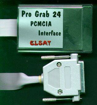 Picture showing the optional PCMCIA interface