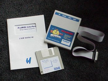 ProMIDI with manual and disk