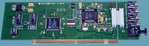 Picture of an old revision repulse. Note the green PCB. Older revisions may lack some features of the newer model.