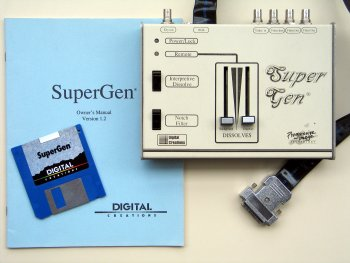 SuperGen with disk and manual