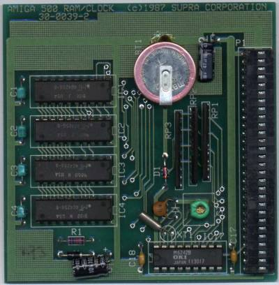 This picture shows a Revision 2 card