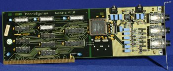 Picture shows a Rev 1.0 card